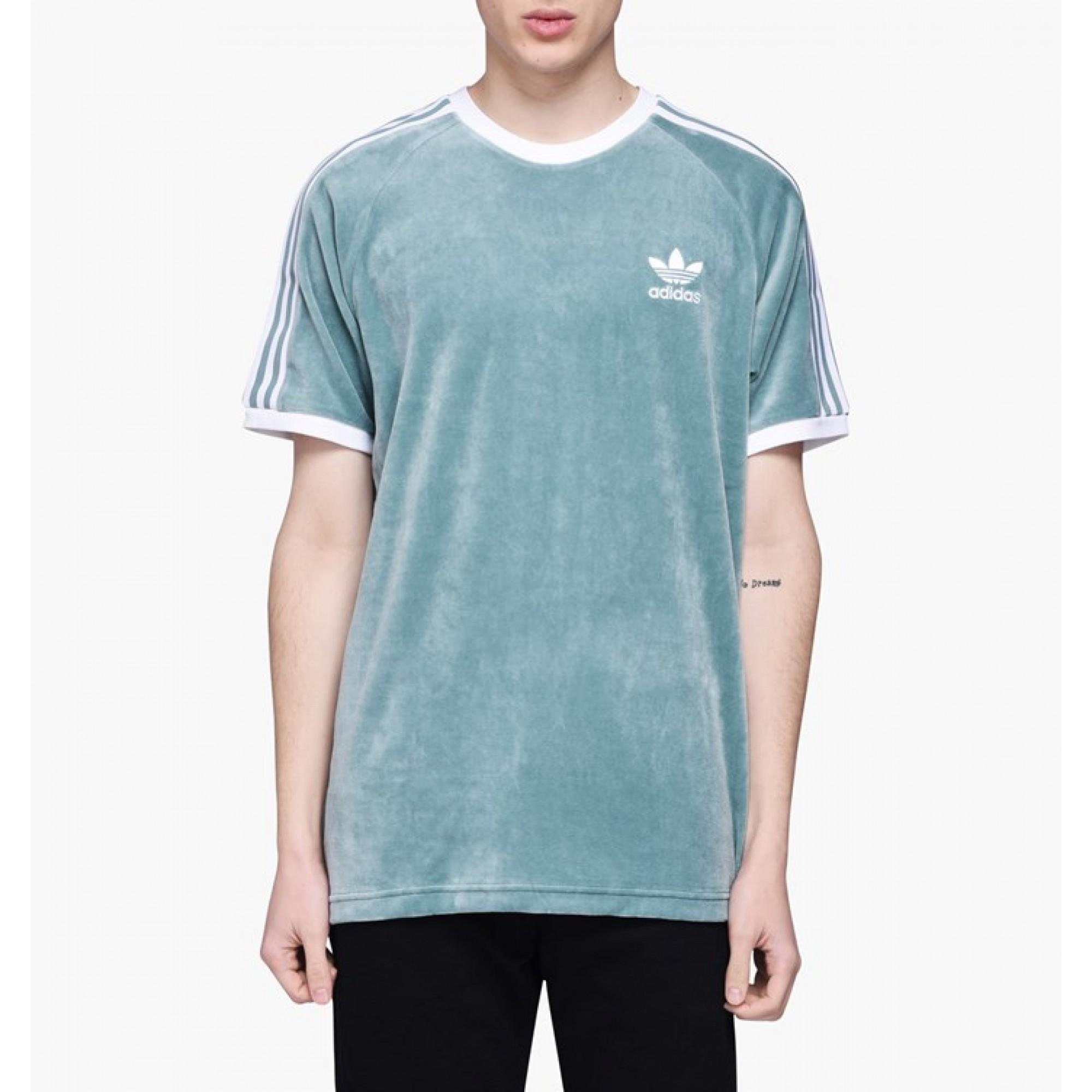 e0b52e2b Men's Adidas Originals Cozy Tee in green |DV1623