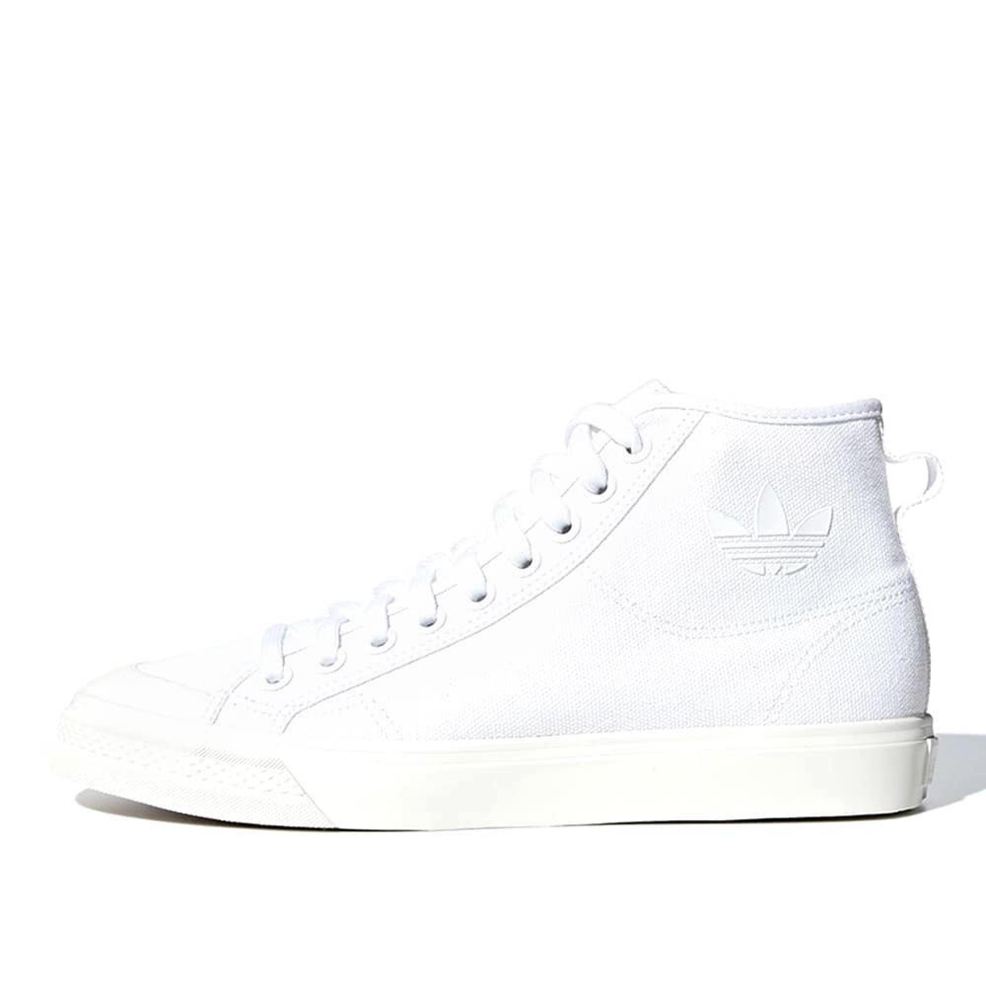 promo code 590f2 85518 Adidas Originals - Nizza Hi Top (White  Off White)  B41643