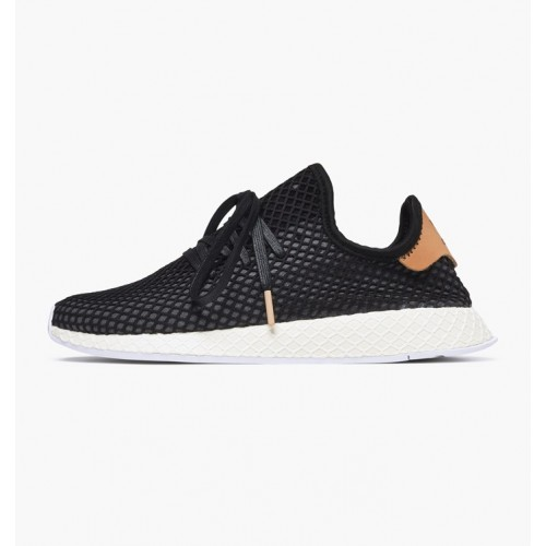 Men's Adidas Originals - Deerupt Runner Core Black- Ash Pearl |B41758