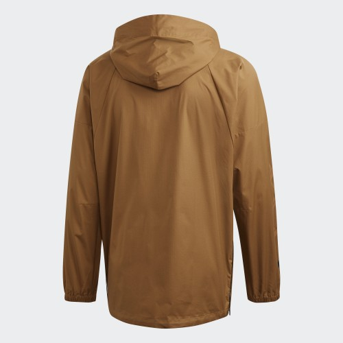 Men's Adidas The Pack Windbreaker in Beige | DW8436