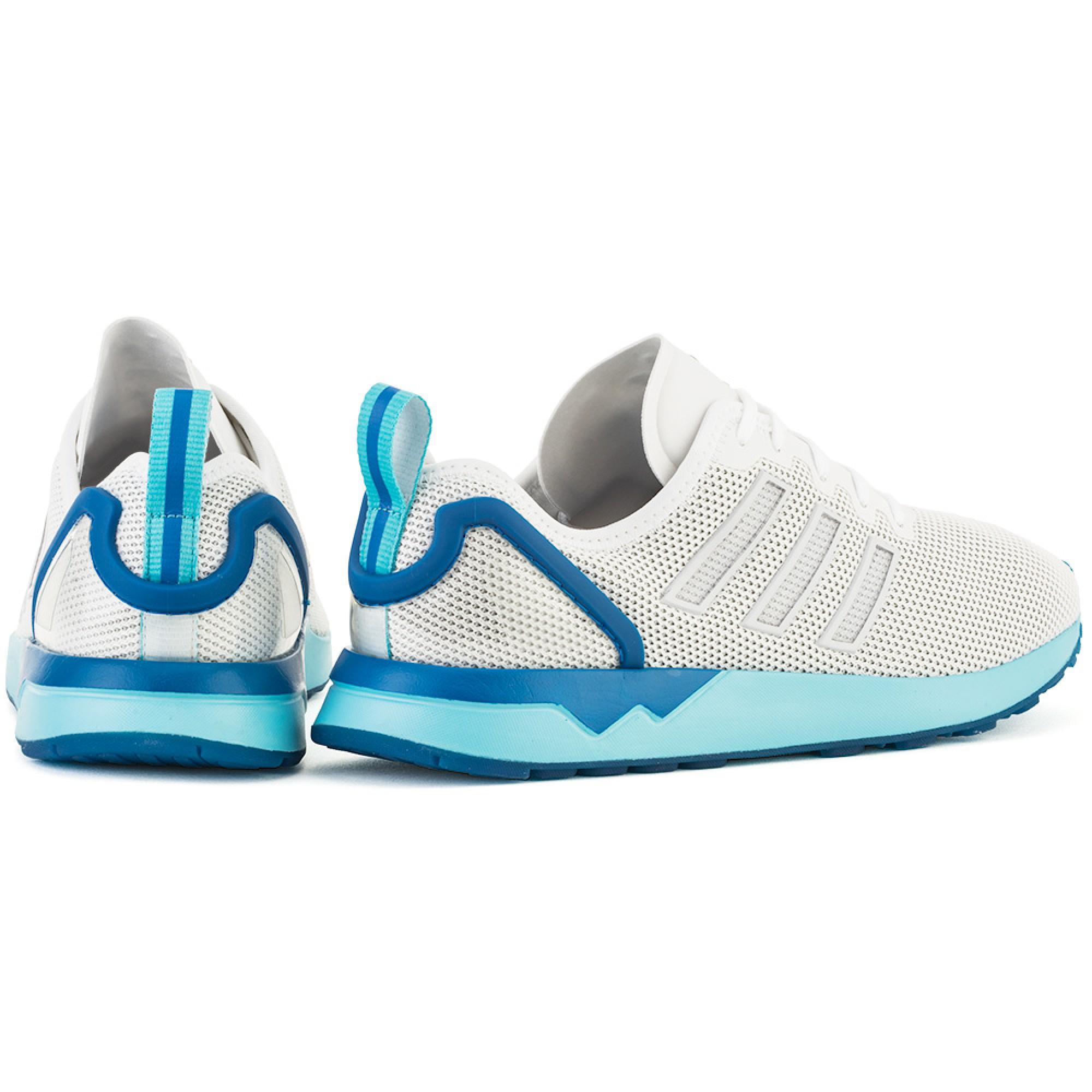 S79014 adidas ZX Flux ADV Vintage White Blue Glow S79014