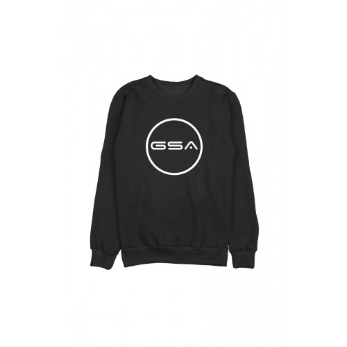 Men's GSA Crew Superlogo Color Edition ( BLACK ) | 171906501-01