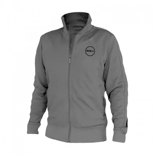Men's GSA Zipper Tempo Mock Sport In Grey | 1719066-05