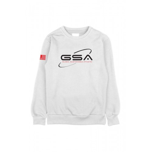 Men's GSA Earth Crew in White | 1719201-02