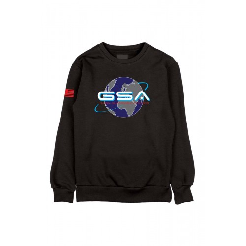 Men's GSA Earth Crew in Black | 1719202-01