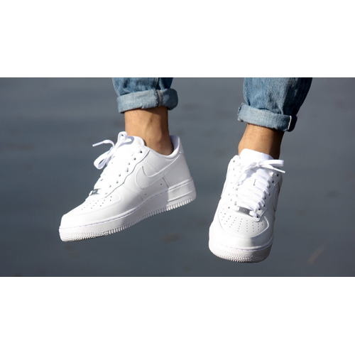 Nike Air Force 1 (GS) All White | 314192-117