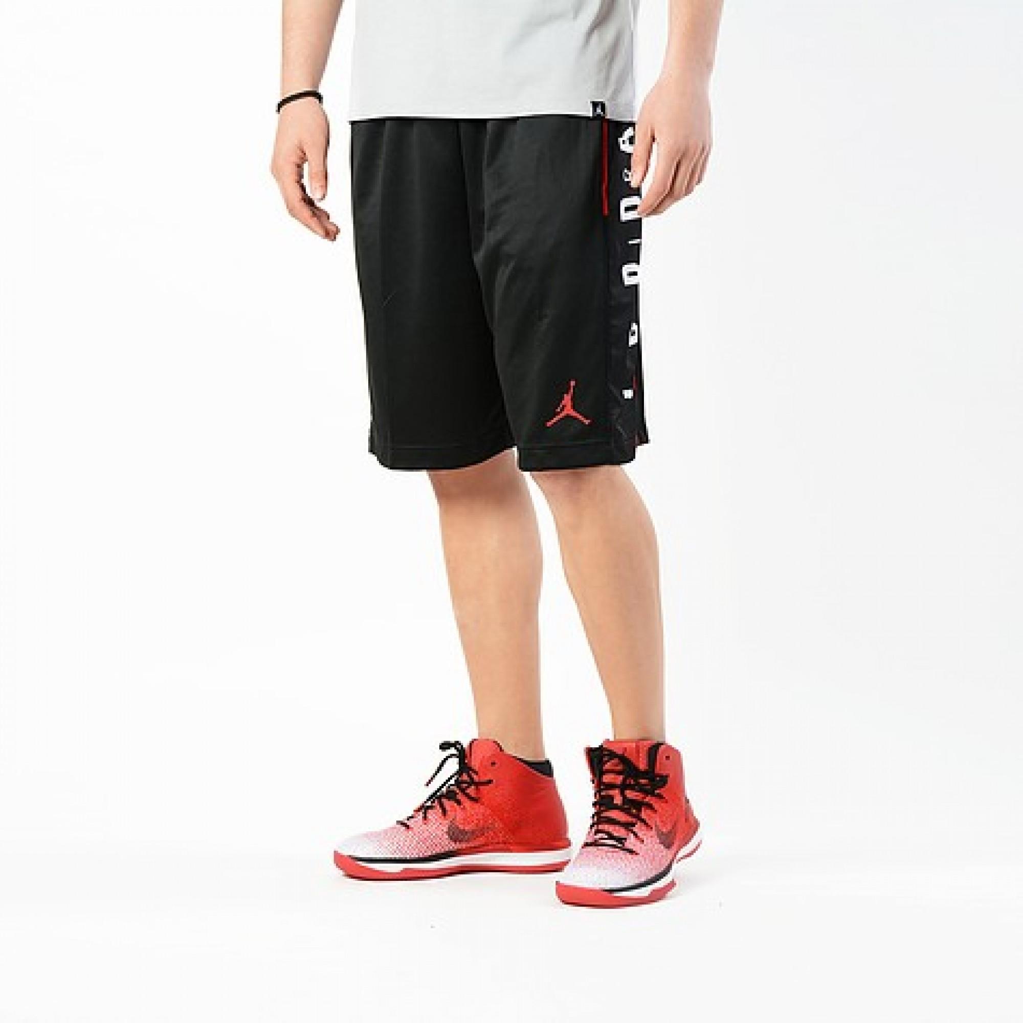 2c829891b69 Jordan Men's Rise Graphic Shorts In Black | 888376-010