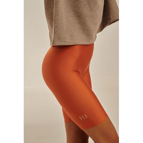PCP - Amaryllis Biker Shorts Orange - Κολάν Amaryllis Ποδηλατικό Shorts Πορτοκαλί