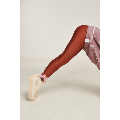 PCP Jacqueline Shiny Cinnamon Kiddo Leggings - Jacqueline Γυαλιστερό Κανελί Παιδικό Κολάν