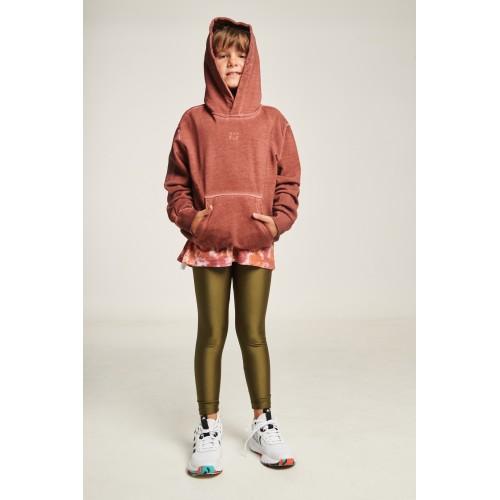 PCP Jacqueline Shiny Olive Kiddo Leggings - Jacqueline Γυαλιστερό Λαδί Παιδικό Κολάν