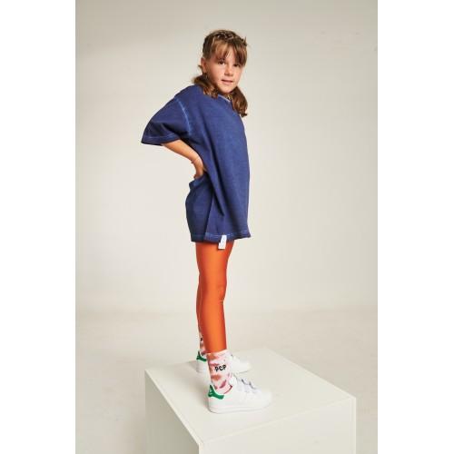 PCP Jacqueline Shiny Orange Kiddo Leggings - Jacqueline Γυαλιστερό Πορτοκαλί Παιδικό Κολάν