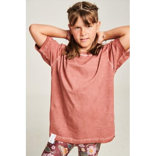 PCP Kiddo Girl's T-Shirt Cinnamon - Παιδικό Μπλουζάκι για Κορίτσι Κανελί