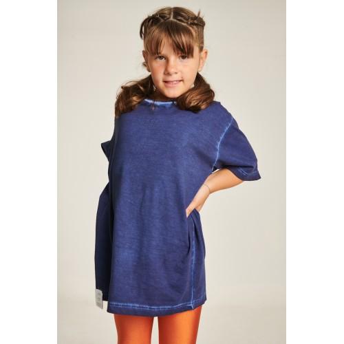 PCP Kiddo Girl's T-Shirt Dark Blue - Παιδικό Μπλουζάκι για Κορίτσι Σκούρο Μπλε