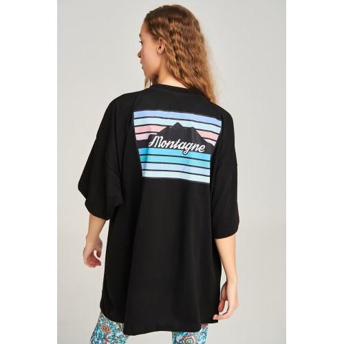 PCP Women's Black Montagne T-shirt
