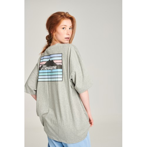 PCP Women's Grey Montagne T-shirt