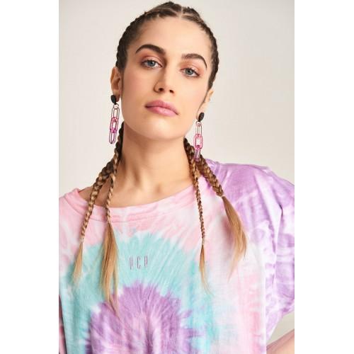 PCP Women's Tie-Dye T-shirt Rave Lollipop | Tie-Dye Μπλουζάκι Rave Lollipop