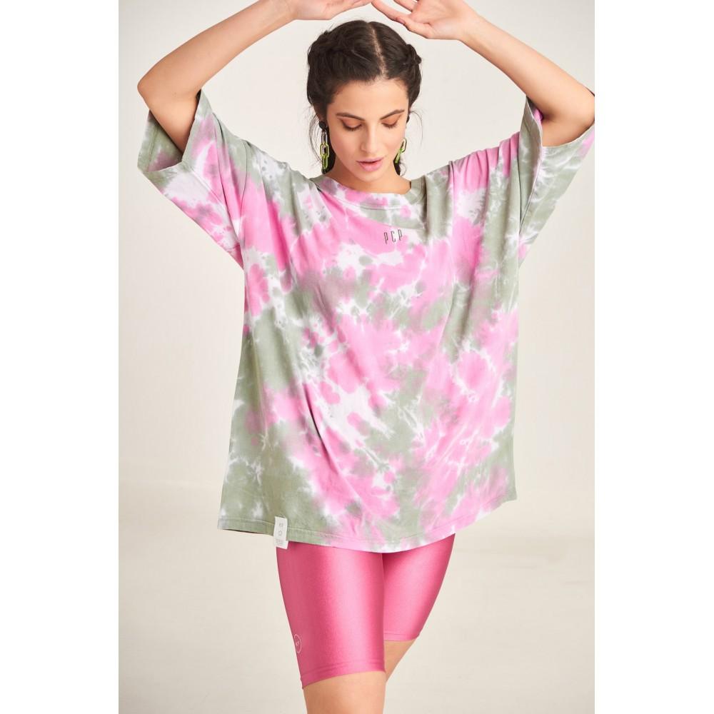 PCP Women's Tie-Dye T-shirt Militaire | Tie-Dye Μπλουζάκι Militaire