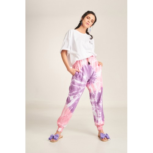 PCP Women's Tie-Dye Bae Trousers Lollipop- Παντελόνι Lollipop
