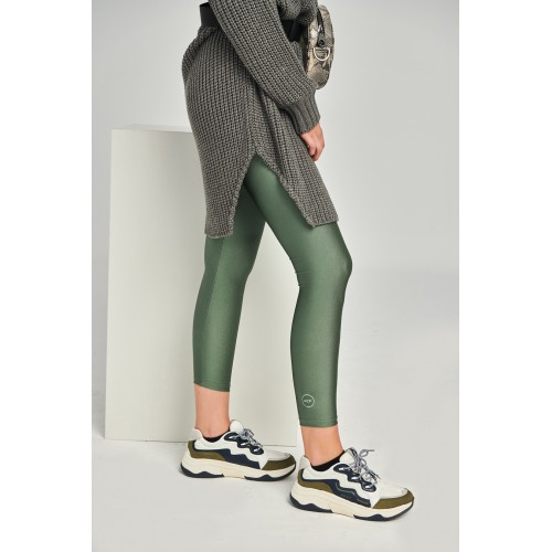 PCP - Jacqueline Army Leggings Χακί Κολάν