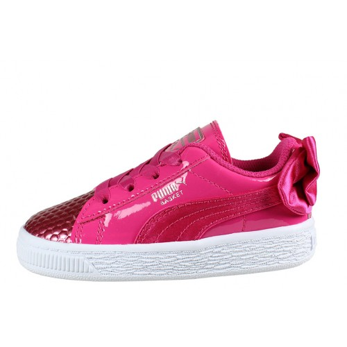 Kid's Puma Bow Coated Glam AC Inf |368986-02 Παιδικό Παπούτσι