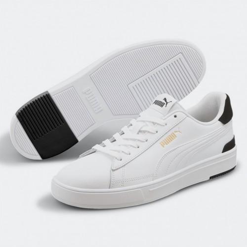 Men's Puma Serve Pro | 380188-02 Ανδρικό Λευκό-Μαύρο Παπούτσι