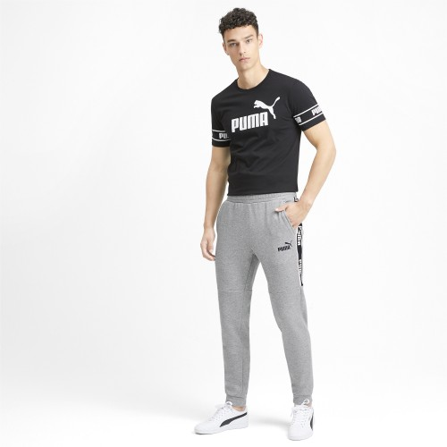 Men's Amplified Fleece Sweatpants In Grey | 580436-03