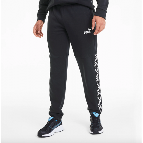 Men's Puma Amplified Training Sweatpants In Black | 581421-01