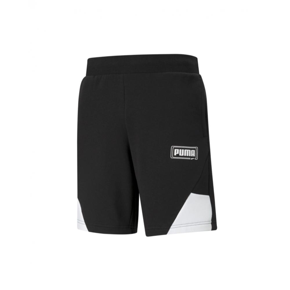 Men's Puma - REBEL Shorts 9 TR in Black   585749-01