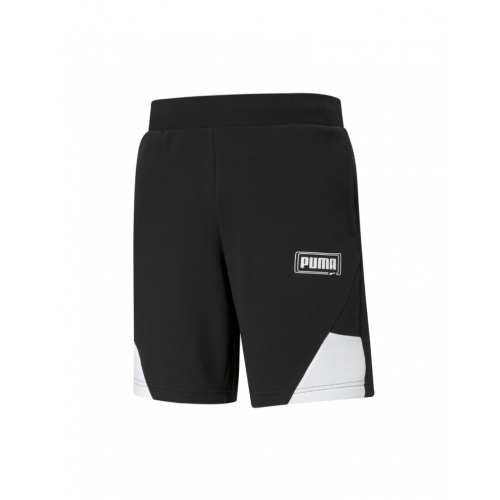 Men's Puma - REBEL Shorts 9 TR in Black | 585749-01